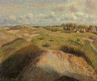 Camille Pissarro Dunes at Knokke