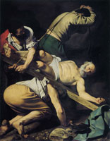 Caravaggio The Crucifixion of St Peter