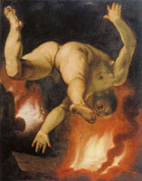 Cornelis van Haarlem The fall of Ixion