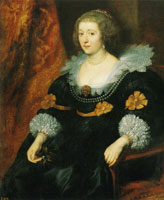 Anthony van Dyck - Portrait of Amalia of Solms