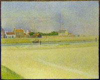 Georges Seurat The Channel at Gravelines, Grand Fort-Philippe