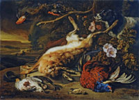 Jan Weenix Hunting Still Life