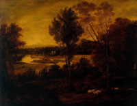 Joshua Reynolds The Thames from Richmond Hill