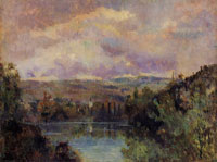 Albert Lebourg Edge of the Ain River