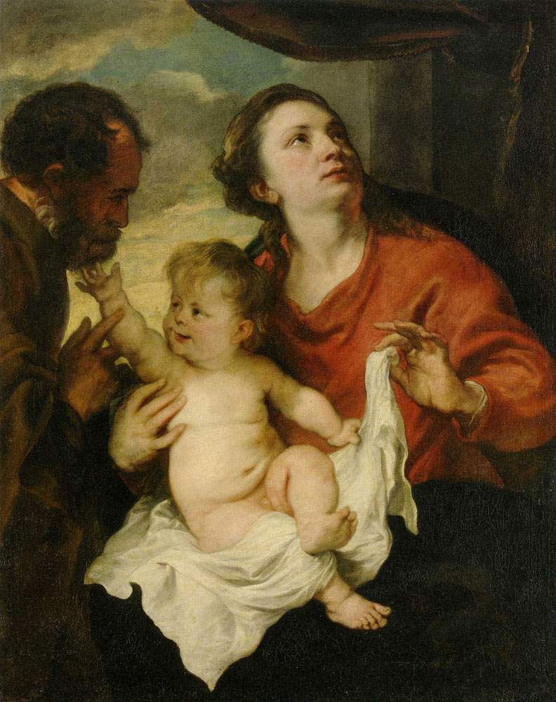 Anthony van Dyck - The Holy Family