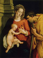 Adriaen Thomasz. Key Holy Family