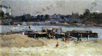 Albert Lebourg The Banks of the Seine