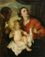 Anthony van Dyck The Holy Family