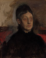 Edgar Degas Stefanina Primicile Carafa, Marchioness of Cicerale and Duchess of Montejasi