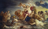 Erasmus Quellinus the Younger - The Triumph of Galatea