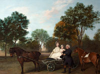George Stubbs - The Reverend Robert Carter Thelwall and His Family