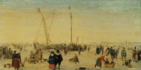 Hendrick Avercamp A Scene on the Ice