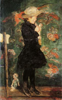 James Ensor Child with Doll