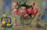 James Ensor Roses and Tanagra Figures