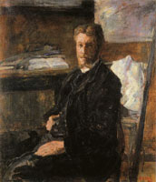 James Ensor Portrait of Willy Finch
