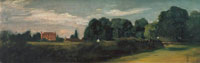 John Constable East Bergholt House