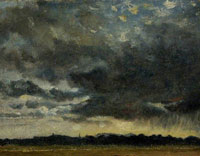Attributed to John Constable At Hampstead, Looking towards Harrow