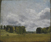 John Constable - View at Epsom
