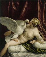 After Paolo Veronese Leda and the Swan
