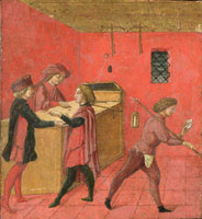 Anonymous - Payment of Salaries to the Night Watchmen in the Camera del Comune of Siena