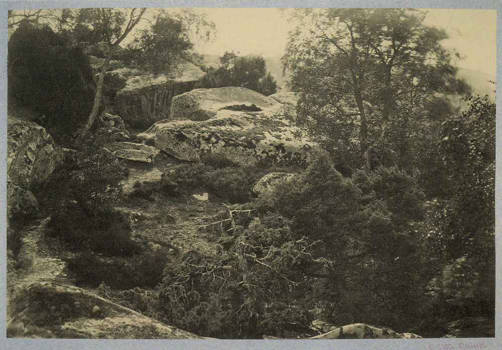 Achille Quinet - Boulders in Fontainebleau