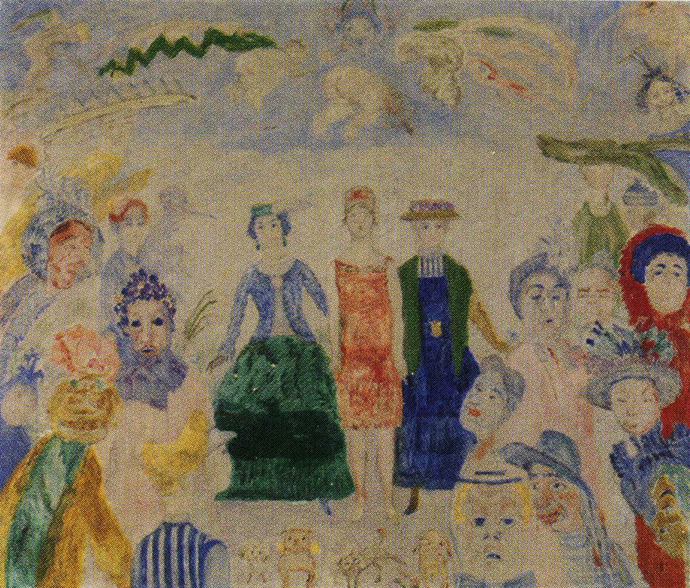 James Ensor - Woman Through the Ages