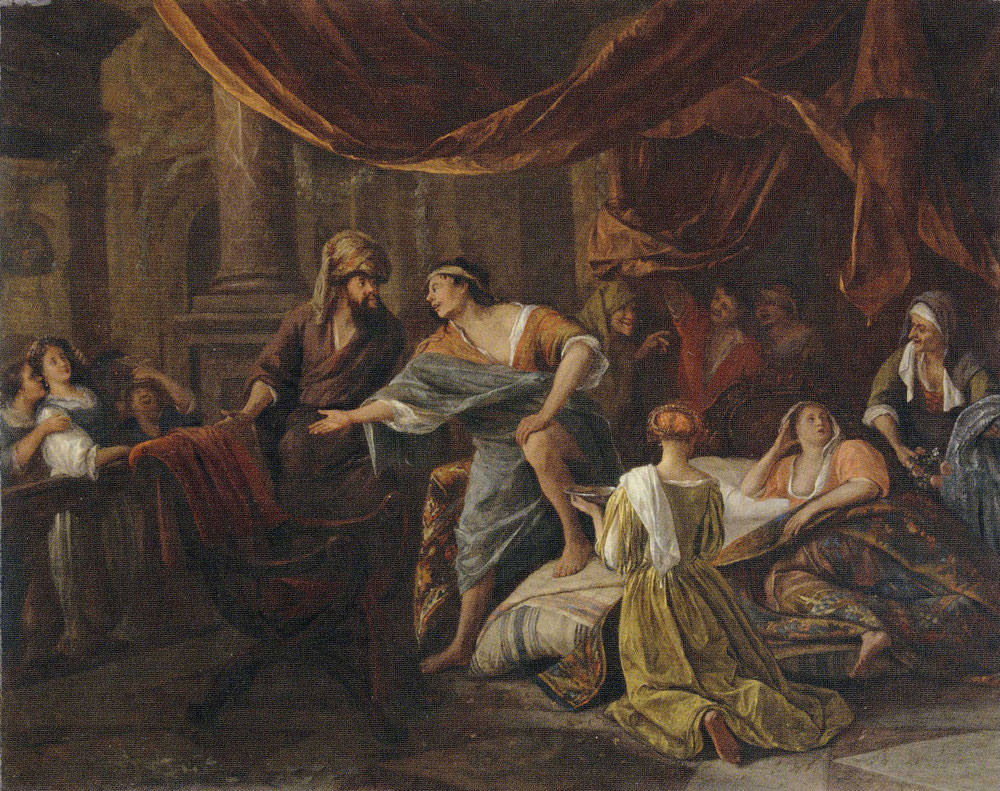 Jan Steen - Jacob Confronting Laban