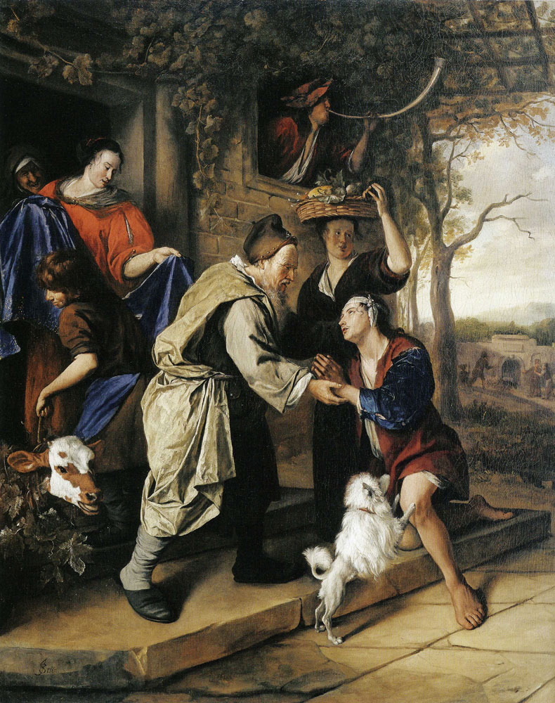 Jan Steen - The Return of the Prodigal Son