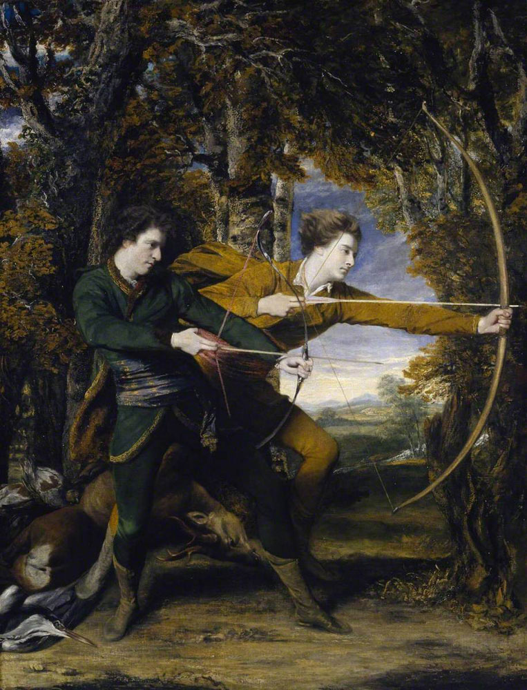 Joshua Reynolds - Colonel Acland and Lord Sydney: The Archers