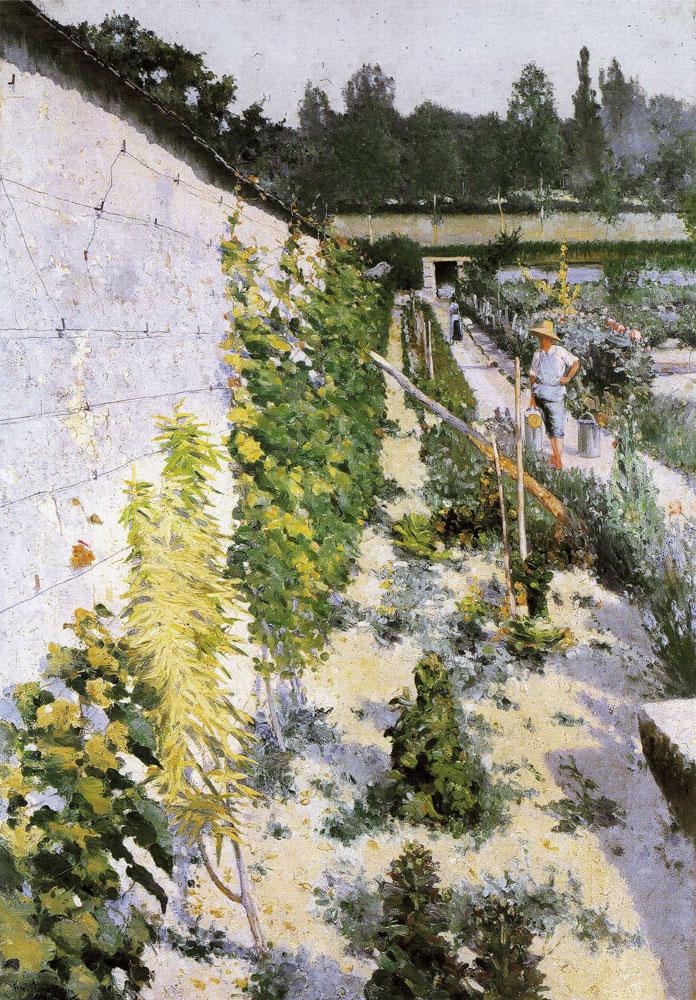 Karl Nordström - Garden in Grez