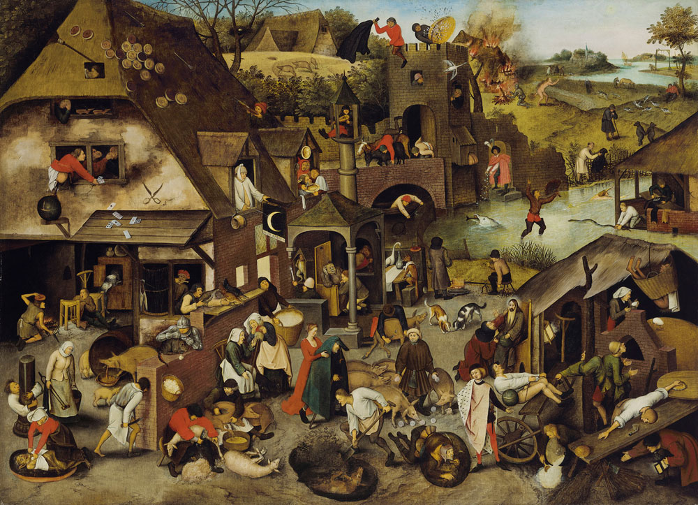 Pieter Brueghel, the Younger - The Netherlandish Proverbs