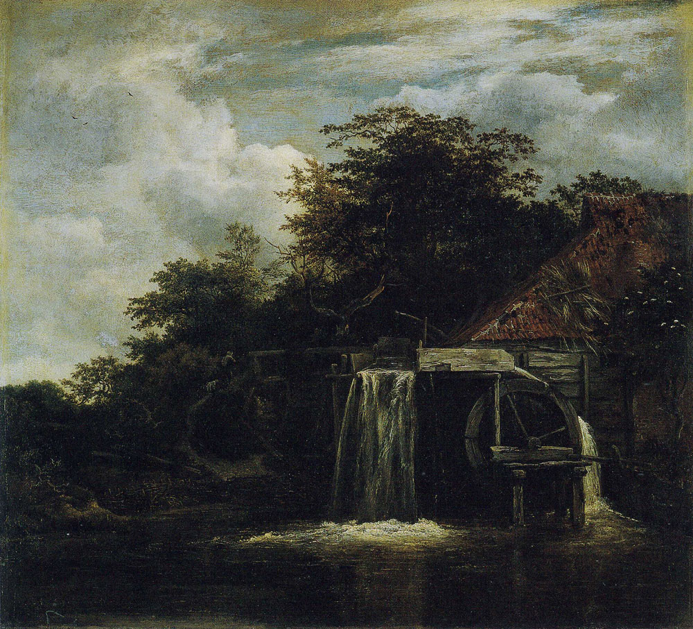 Jacob van Ruisdael - A Water Mill