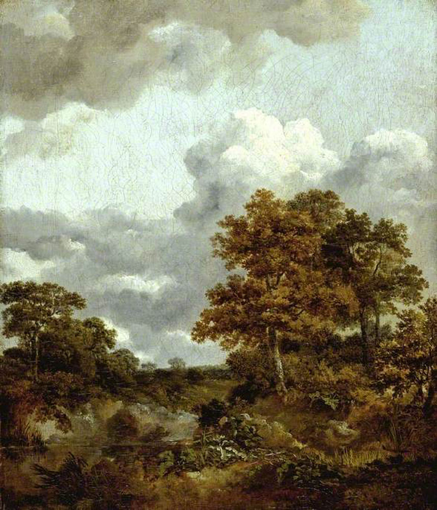 Thomas Gainsborough - Landscape with a Pool