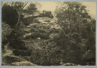 Achille Quinet Boulders in Fontainebleau