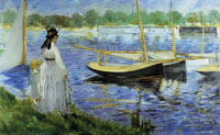 Edouard Manet The Seine at Argenteuil