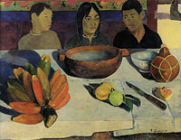 Paul Gauguin The Meal (The Bananas)