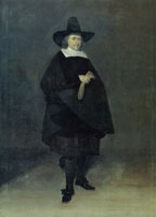 Gerard ter Borch Jan Roever, Mayor of Deventer