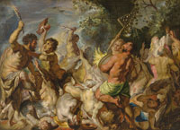 Jacob Jordaens The Battle of the Centaurs and the Lapiths