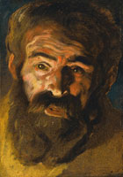 Jacob Jordaens Study for the head of Saint Christopher
