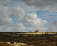 Jacob van Ruisdael Panoramic View of Haarlem