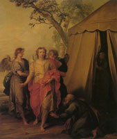 Jacob de Wit Abraham and the Three Angels
