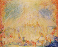 James Ensor Ballet with Minarets