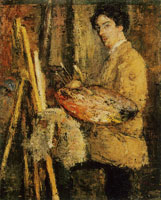 James Ensor Portrait of the Artist at His Easel