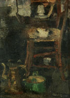 James Ensor - The Little Chair