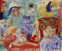 James Ensor Still Life with Masks