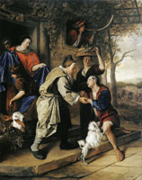 Jan Steen The Return of the Prodigal Son