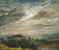 John Constable View from Hampstead Heath, Looking Towards Harrow
