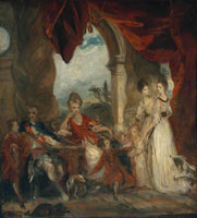 Joshua Reynolds Sketch for 'The 4th Duke of Marlborough and his Family'