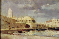 Albert Lebourg - The Port of Algiers