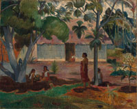 Paul Gauguin The Large Tree
